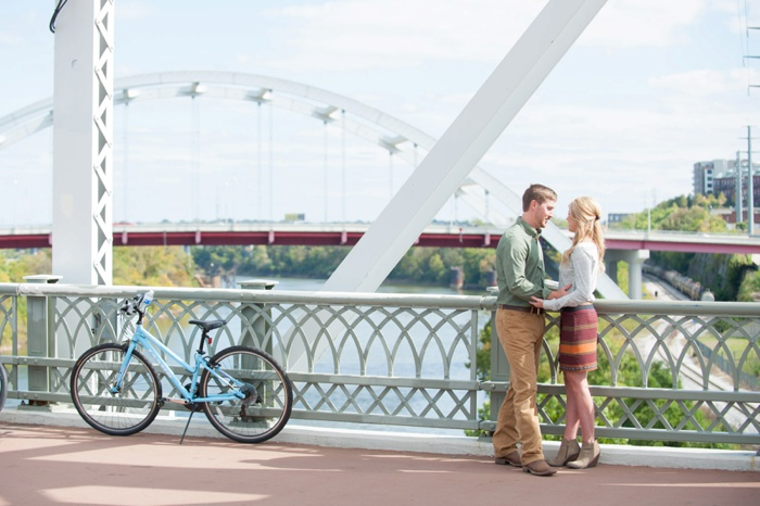Engagement at Nashville Pedestrian Bridge-04