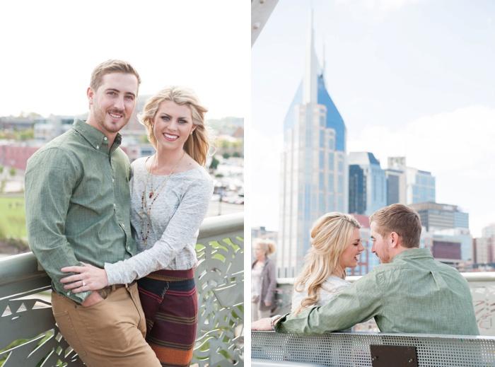 Engagement at Nashville Pedestrian Bridge-05