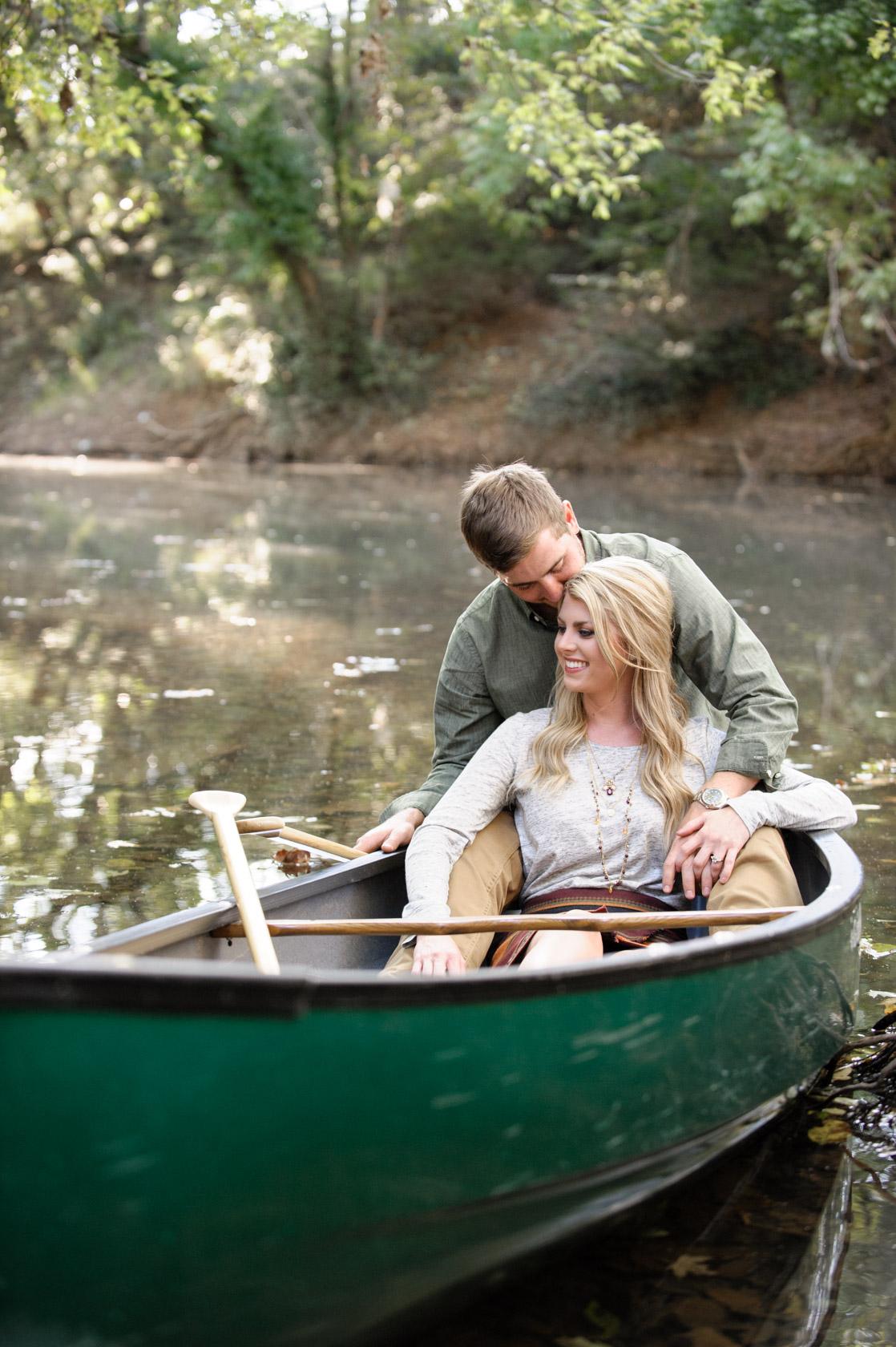 Nashville TN engagement with canoe-01
