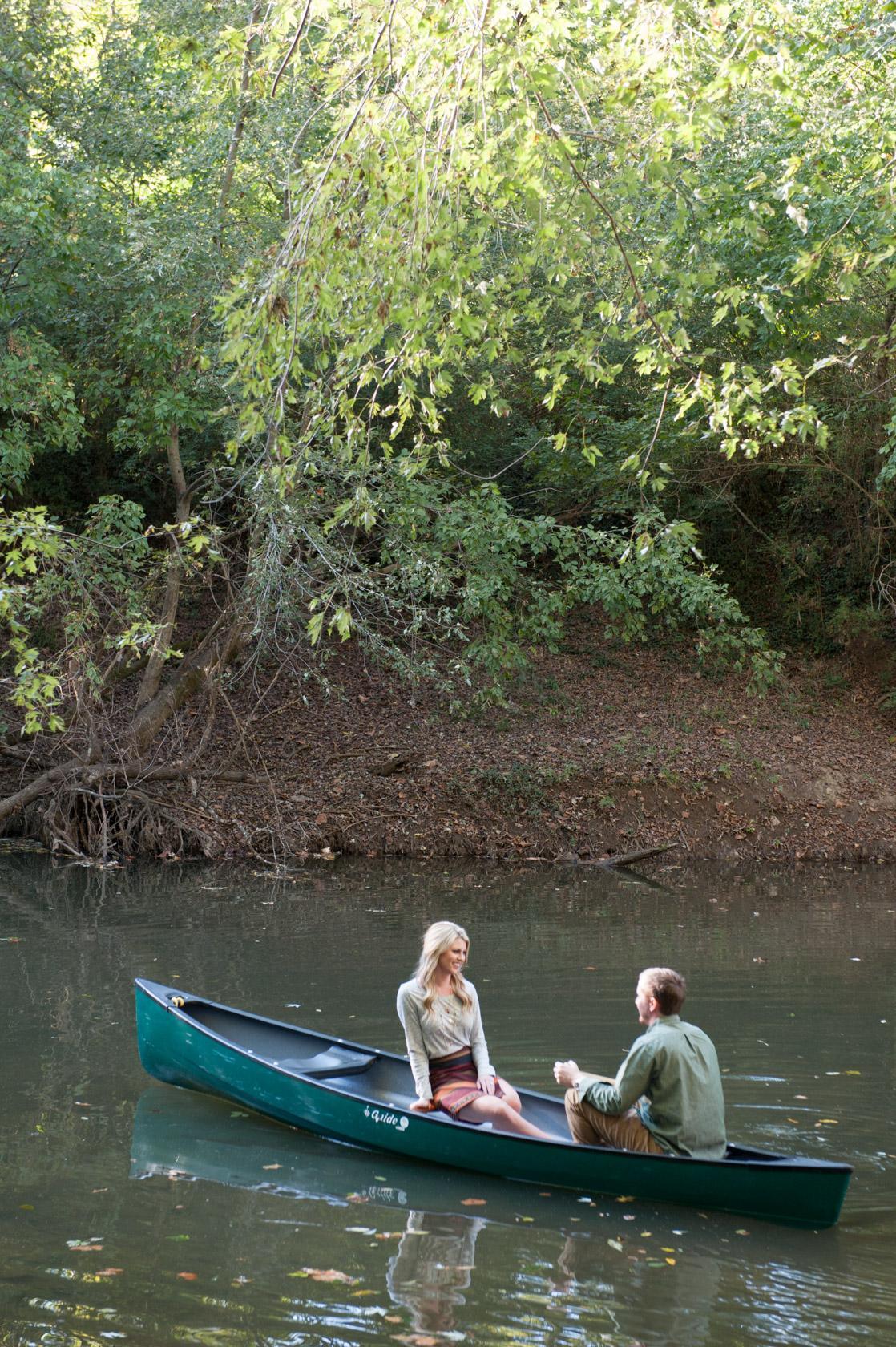 Nashville TN engagement with canoe-02