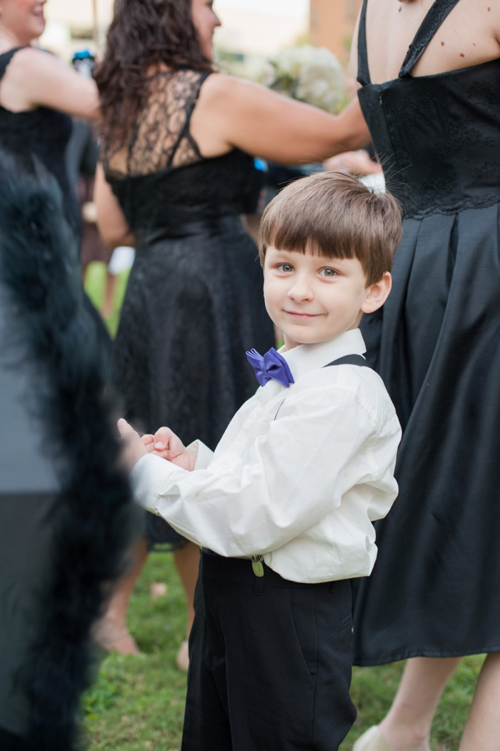 New Orleans Wedding ring bearer