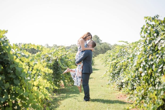 Morgan Creek Winery vineyard engagement