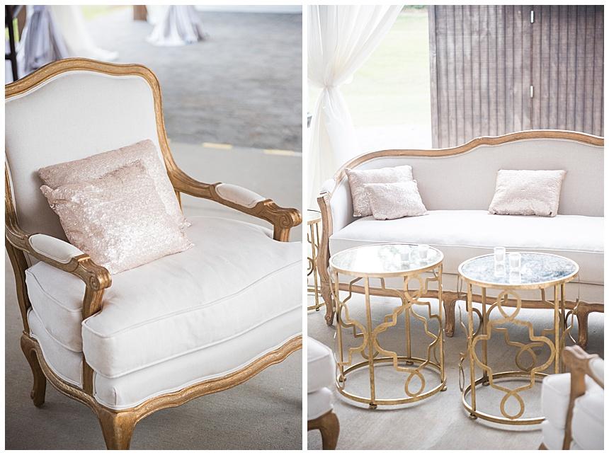 white wedding reception lounge furniture