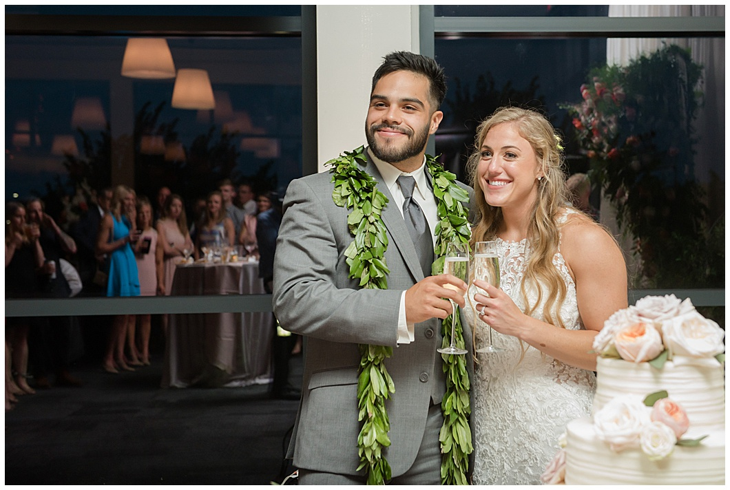 samoan bride and groom wedding toast