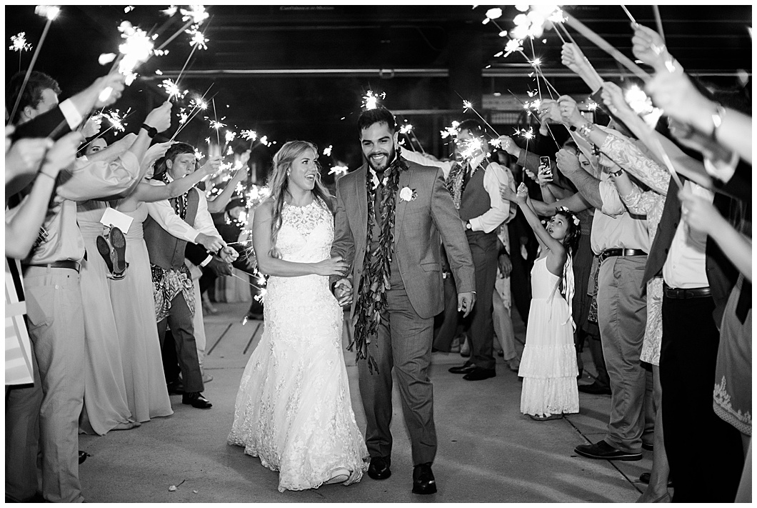 wedding sparkler exit regions field Birmingham